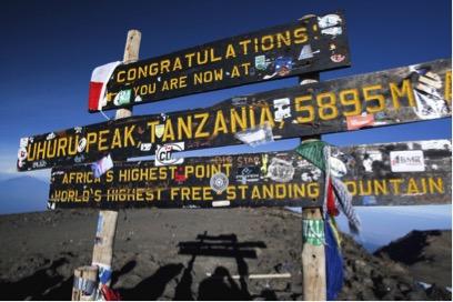Mt Kilimanjaro bestigning i sabbatår
