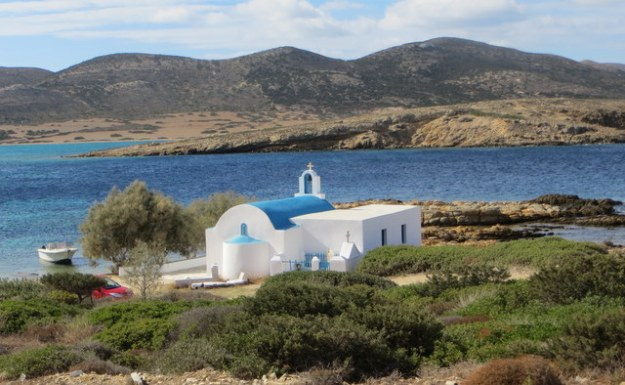 Church at St. Georgio, Antiparo