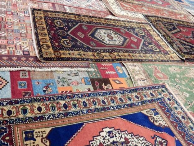 Carpet coop in Cappadocia