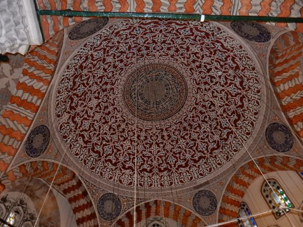 Ceiling of mosque