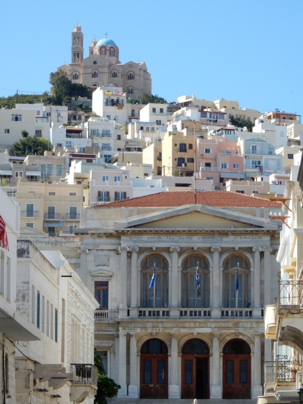 View of Ermopolis, Syros Island