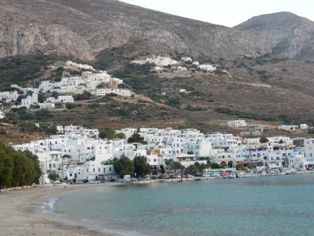 Aigialis town (Amorgos)