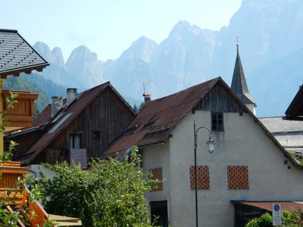 The small alpine village of Valbrunna in the South Tyrol region of Italy