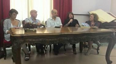 Reggio Calabria 30/05/15 P.Bottero, C.Indellicati, A.Russo, P.Nardi, A.Illiano  informazione e disinformazione  