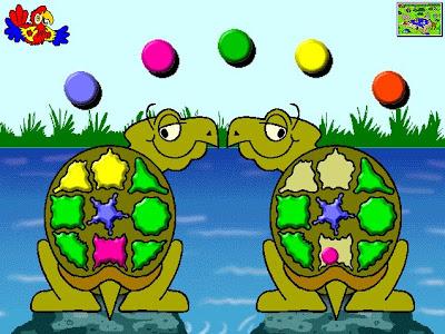figuras y colores - Plumo en el zoo
