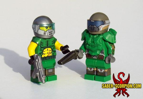 Custom Lego Moc Saber-scorpion' Lair