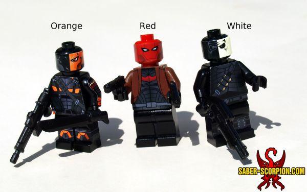 Saber-scorpion' Lair Custom Lego Minifigs Stickers