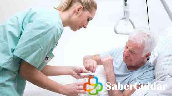 Enfermera de cuidados paliativos