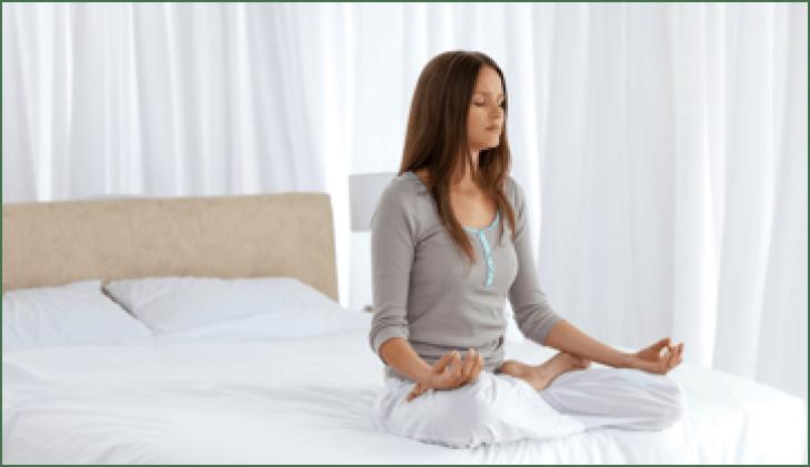 meditar y relajarse
