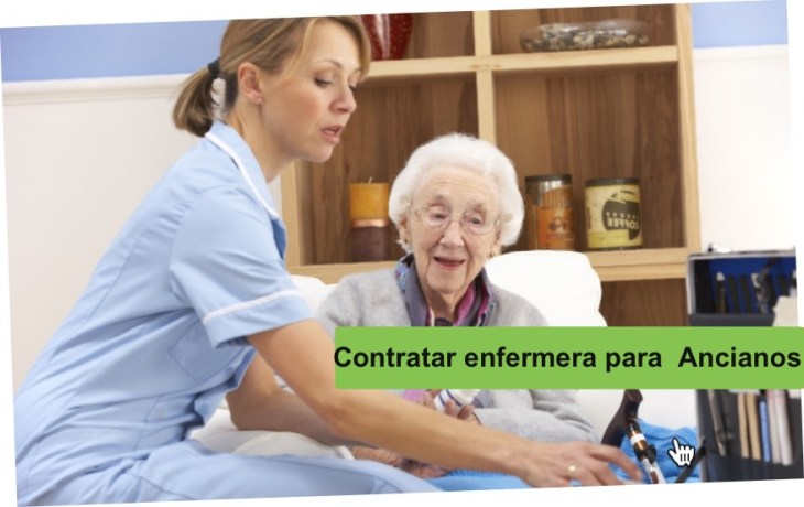 contratar enfermera ancianos