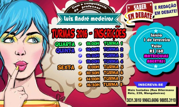 Novas Turmas 2016 (2)
