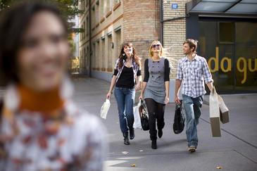 Los comportamientos de la gente a la hora de visitar y gastar en las tiendas son repetitivos. / Zürich Tourismus