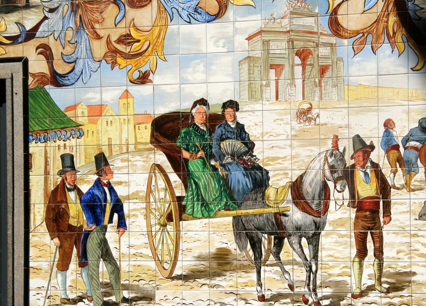 1. El Madrid del XIX. Autor, Manuel Vicente