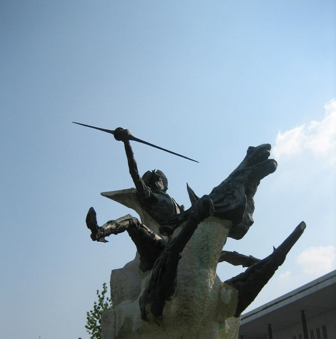 Don Quijote outside Kennedy Center. Autor, mjlaflaca