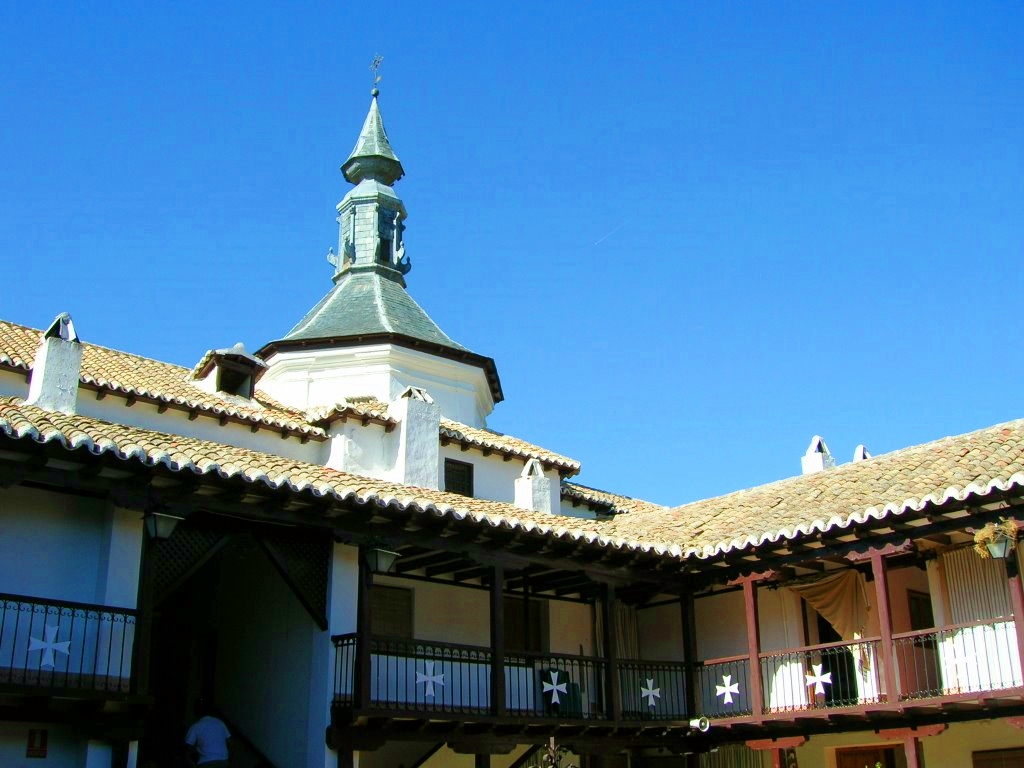 Ermita de la Virgen de la Sierra. Villarrubia de los Ojos. Autor, Angel Muñoz