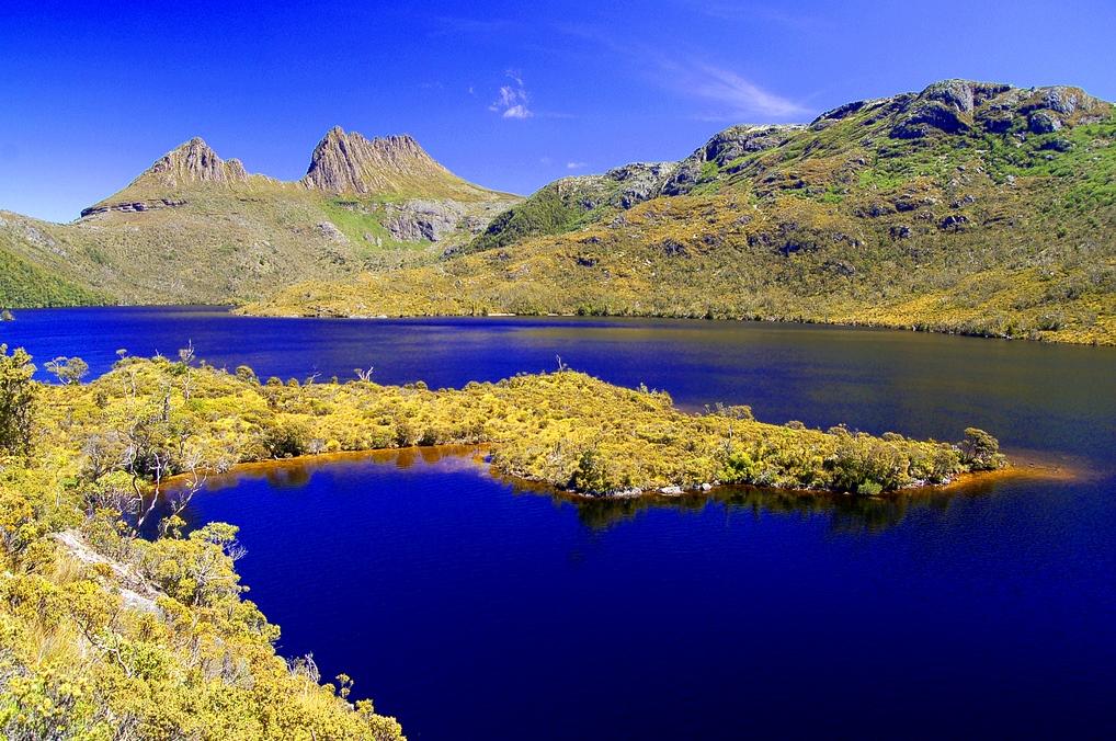 El Monte Craddle y el lago Dove. Autor, Stefan Heinrich