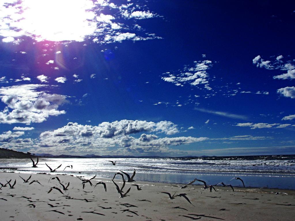 Sobrevolando Byron Bay, Nueva Gales del Sur. Autor, D.I.