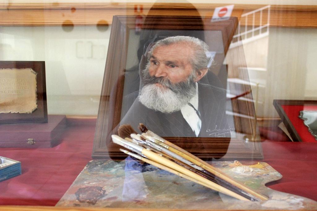 Retrato de Antonio López Torres, museo Antonio López Torres. Autora, María José, de lavidaenvino.wordpress.com