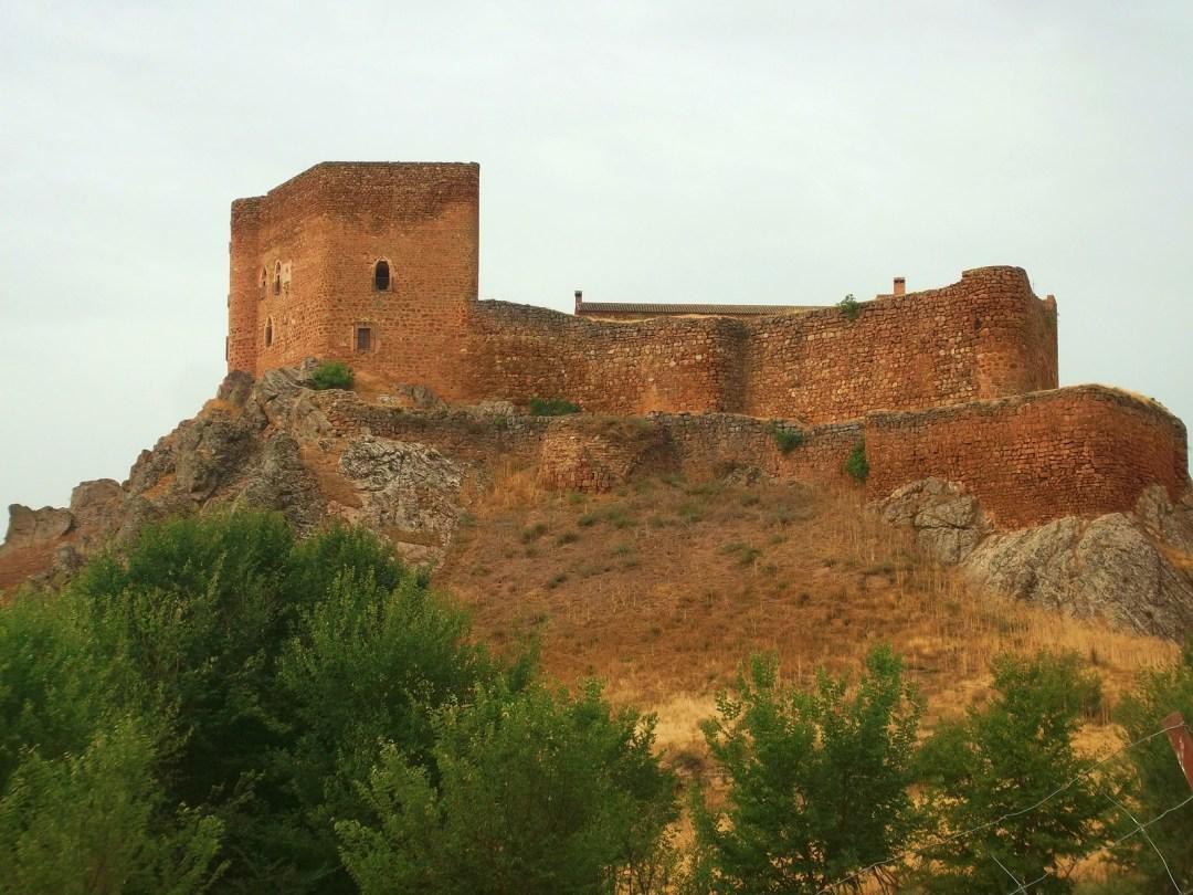 Vista del Castillo de Montizón, Villamanrique