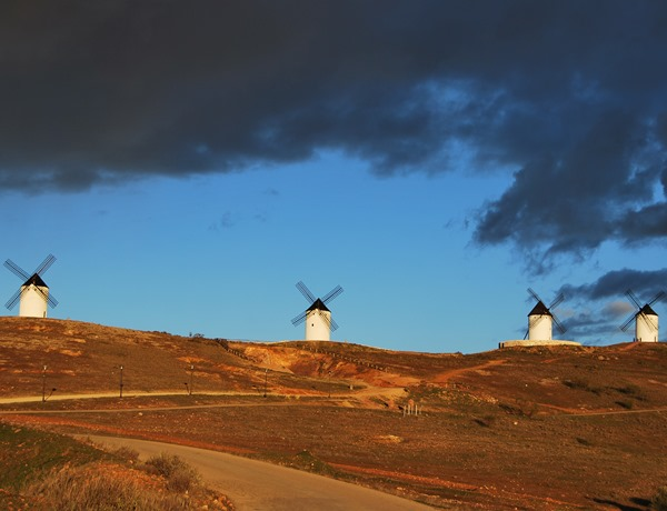 Molinos viento, Don Quijote Alcázar de San Juan