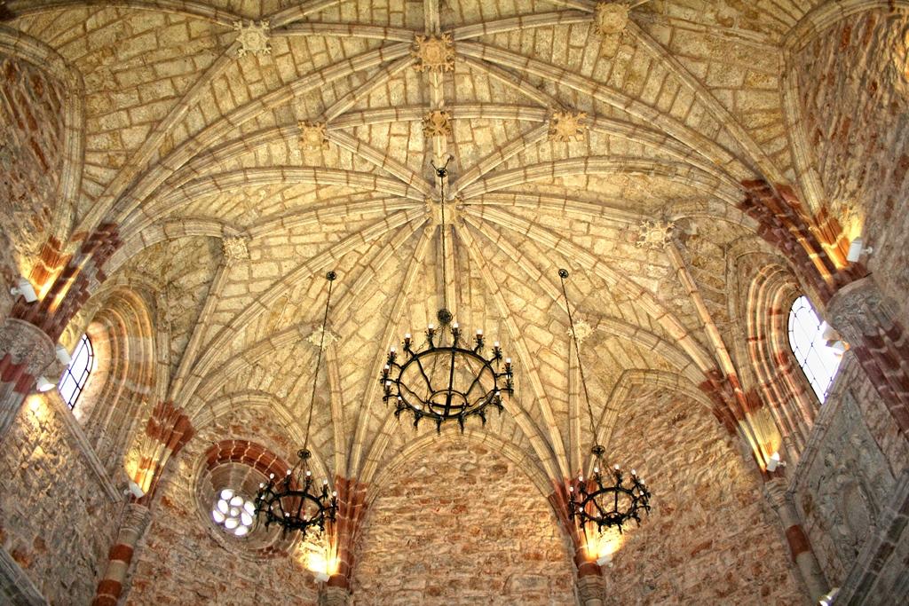 bóvedas de la Iglesia de Nuestra Señora de la Asunción, Villahermosa
