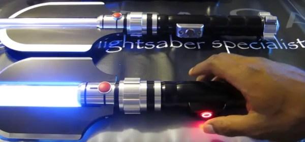 Ultrasabers Malice lightsaber