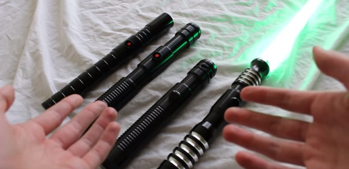 Ultrasabers lightsaber various hilts