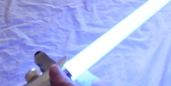 blue lightsaber blade