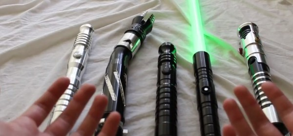 Ultrasabers lightsabers various models