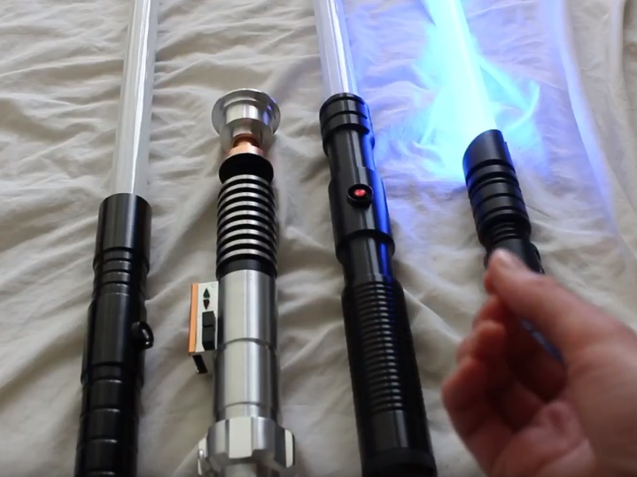 custom sabers from various companies