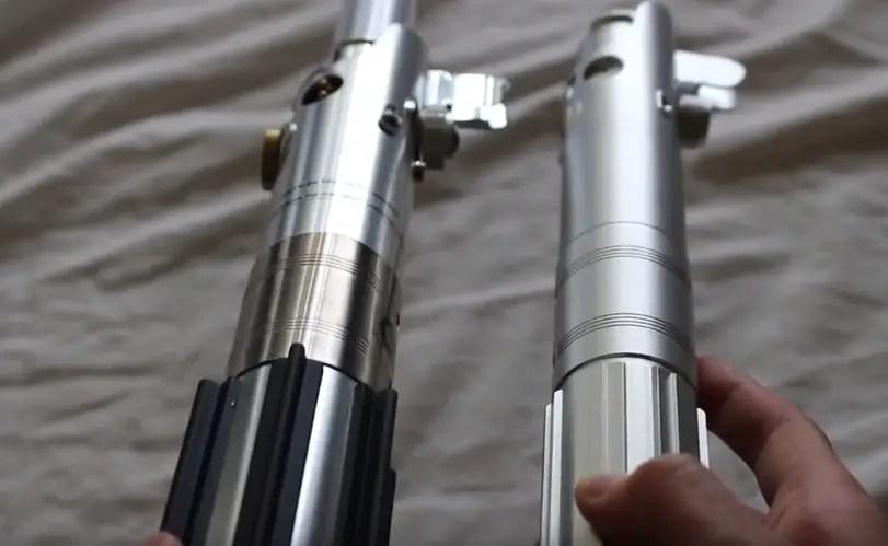Hasbro Rey (Jedi Training) and One Replicas SS-Gf Super Stunt
