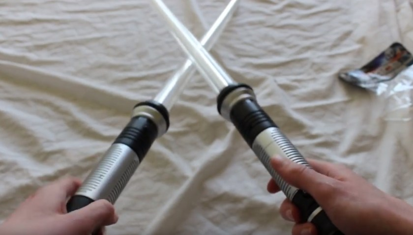 Total FX Rogue Lightsaber set of 2