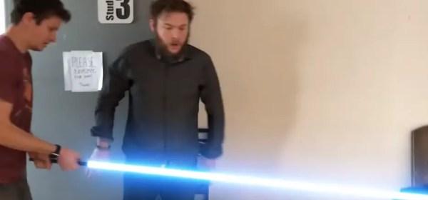 Corridor's World's Longest Lightsaber