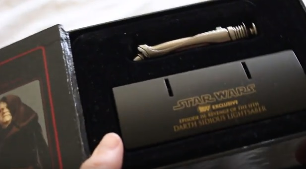 Masters Replicas .45 scale Darth Sidious lightsaber