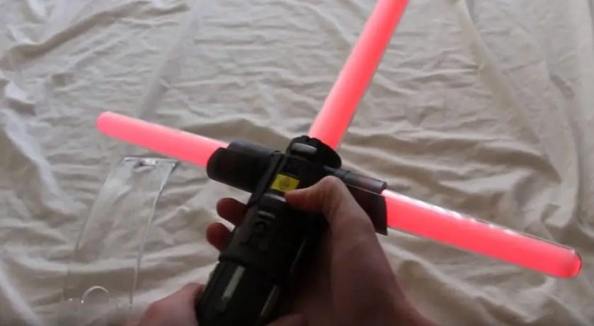 Kylo Ren Force FX lightsaber