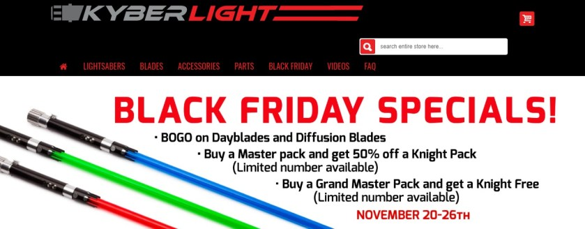 Kyberlight Black Friday sale