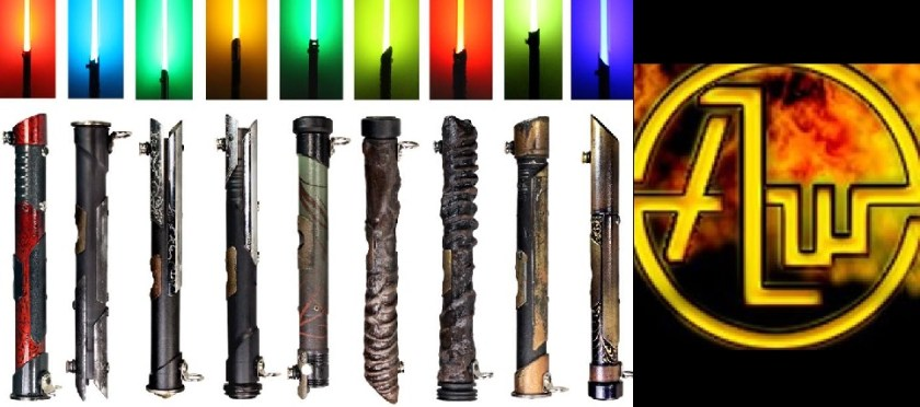 Advanced Light Weaponry lightsabers