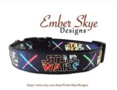 lightsaber-dog-star-wars-adjustable-dog-collar-or-leash-emberskyedesigns