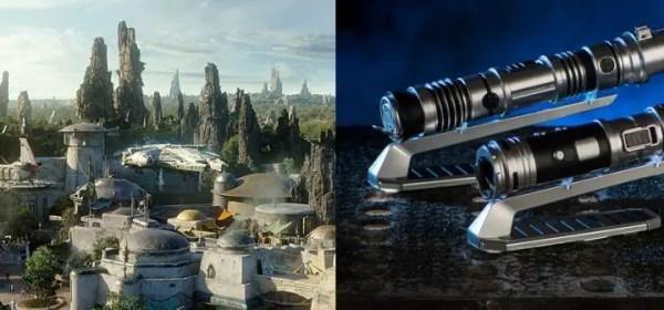 Star Wars Galaxy's Edge lightsabers