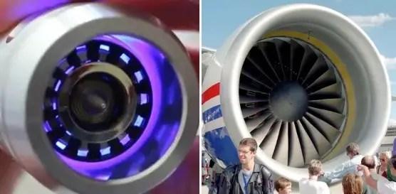 turbine blade plug and a jet engine turbine