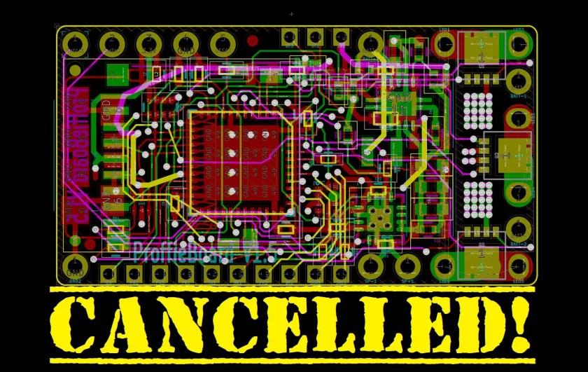 So-Cal Saber Service Proffieboard run cancelled