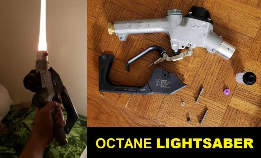 'The Octane' lightsaber