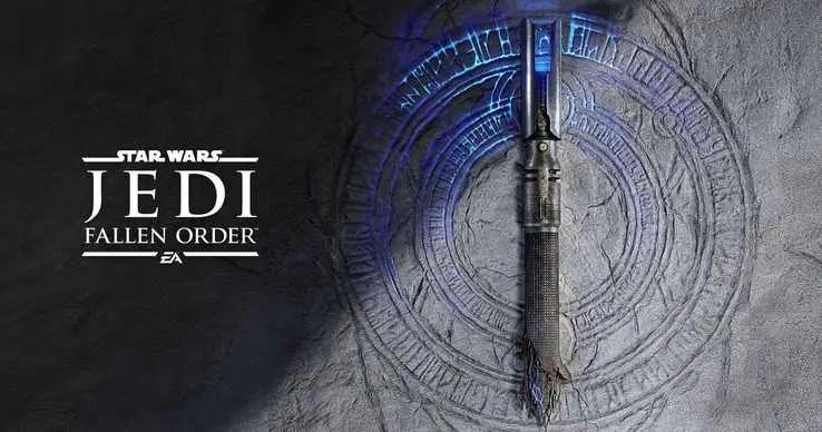 Teaser image for Star Wars Jedi: Fallen Order depicts a broken lightsaber