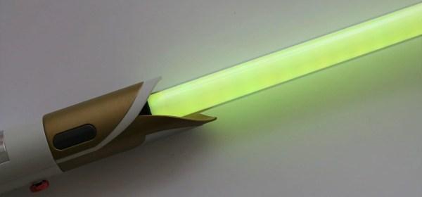 Yellow lightsaber