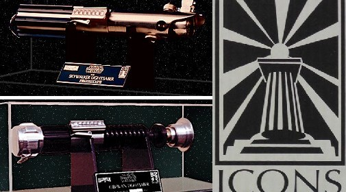 ICONS Authentic Replicas lightsabers