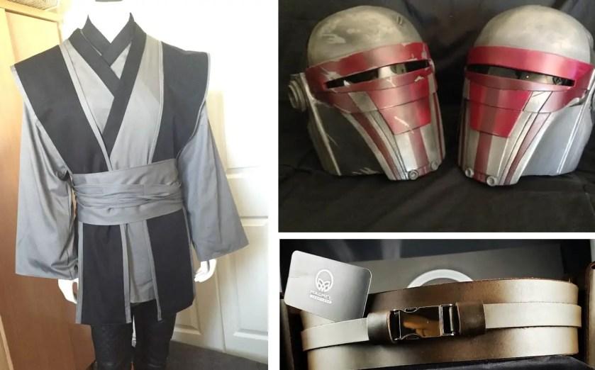 Jedi and Sith Costume List