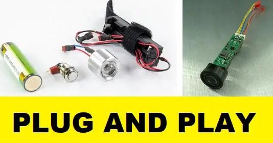 plug and play lightsaber kit