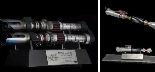 EFX Collectibles Dark Side Rey lightsaber