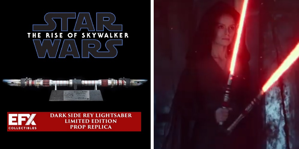 Efx Collectibles Unveils Dark Side Rey Lightsaber New Saber Alert Sabersourcing
