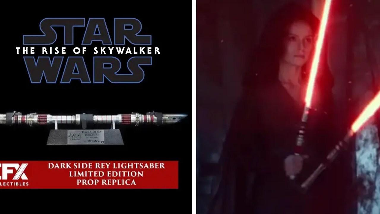 Efx Collectibles Unveils Dark Side Rey Lightsaber New Saber Alert Sabersourcing